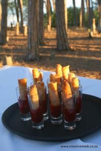 www.creativenook.co.za:duck-springrolls+plum-sauce